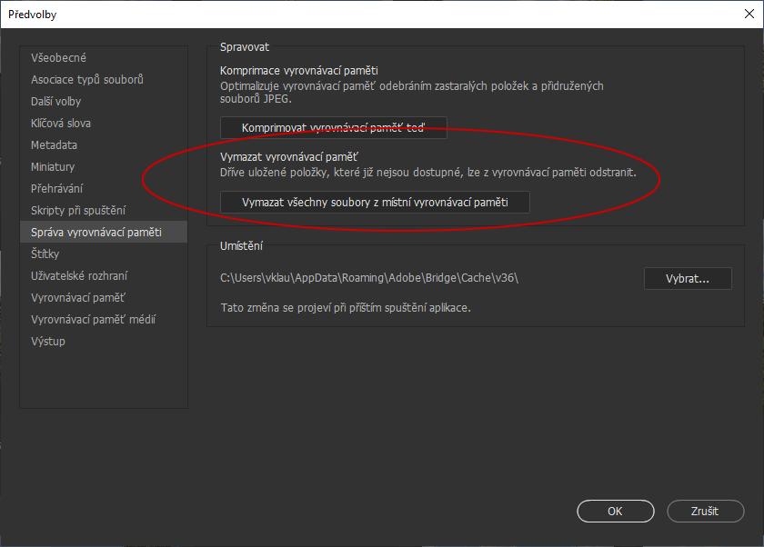 Adobe Bridge - lepší kvalita malých i velkých náhledů  87fad108de