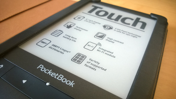 PocketBook Touch – nový firmware 4.2
